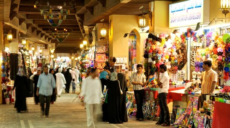 Muscat Old Muthra Souq Transfer and Shopping time