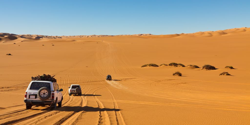 Desert Safari-Wahiba To Wadi Bani Khalid